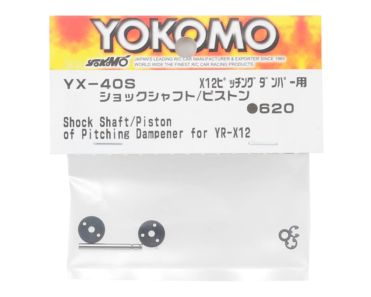 Yokomo YR-X12 Shock Shaft & Piston Parts