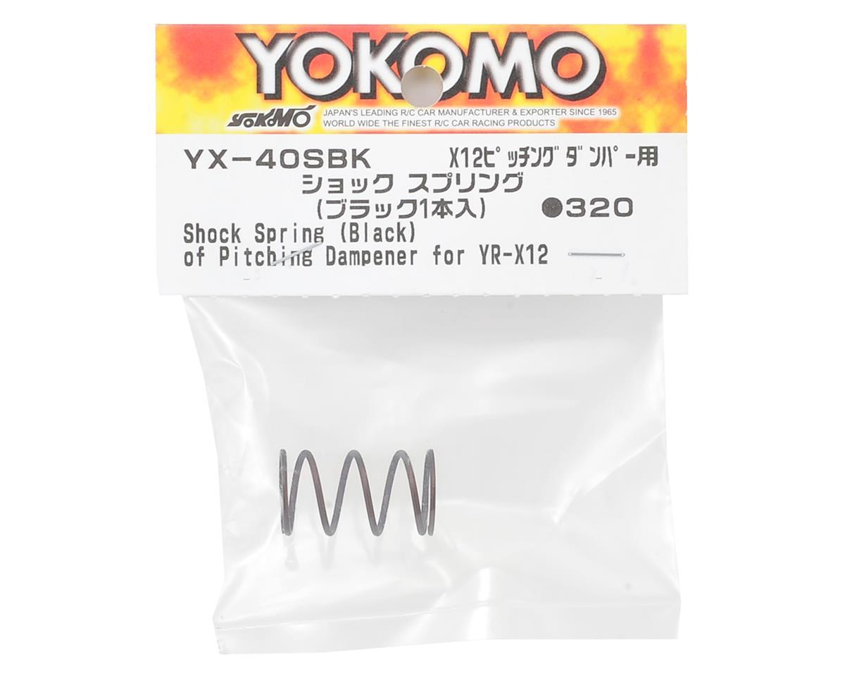 Yokomo YR-X12 Shock Spring (Black)