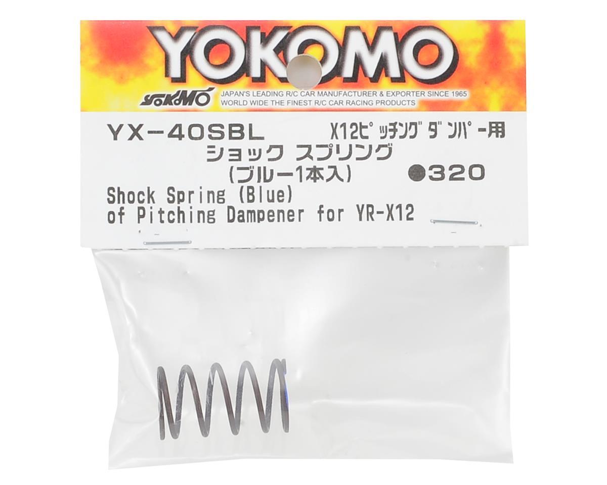 Yokomo YR-X12 Shock Spring (Blue)