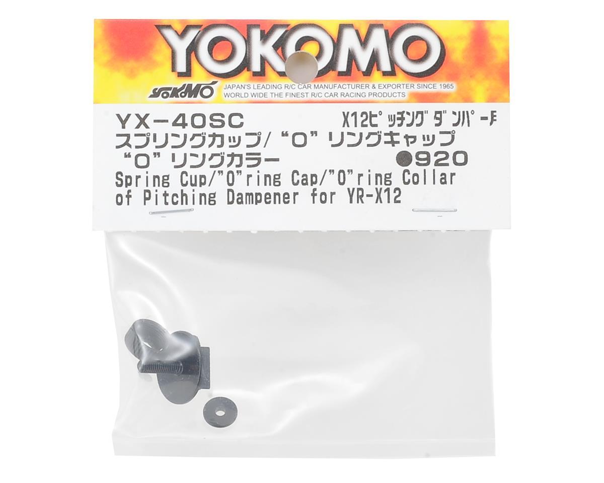 Yokomo YR-X12 Spring Cup, O-Ring Cap & O-Ring Collar