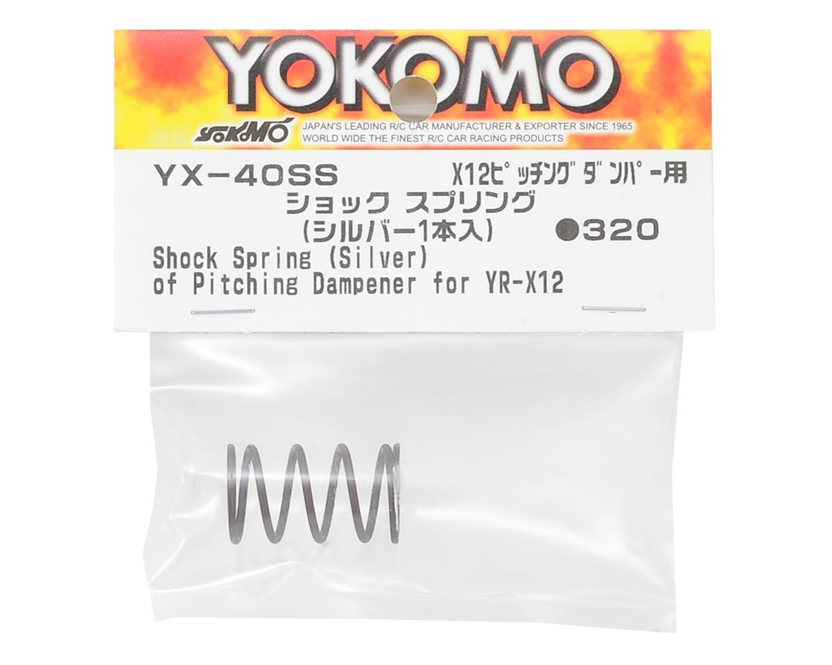 Yokomo YR-X12 Shock Spring (Sliver)
