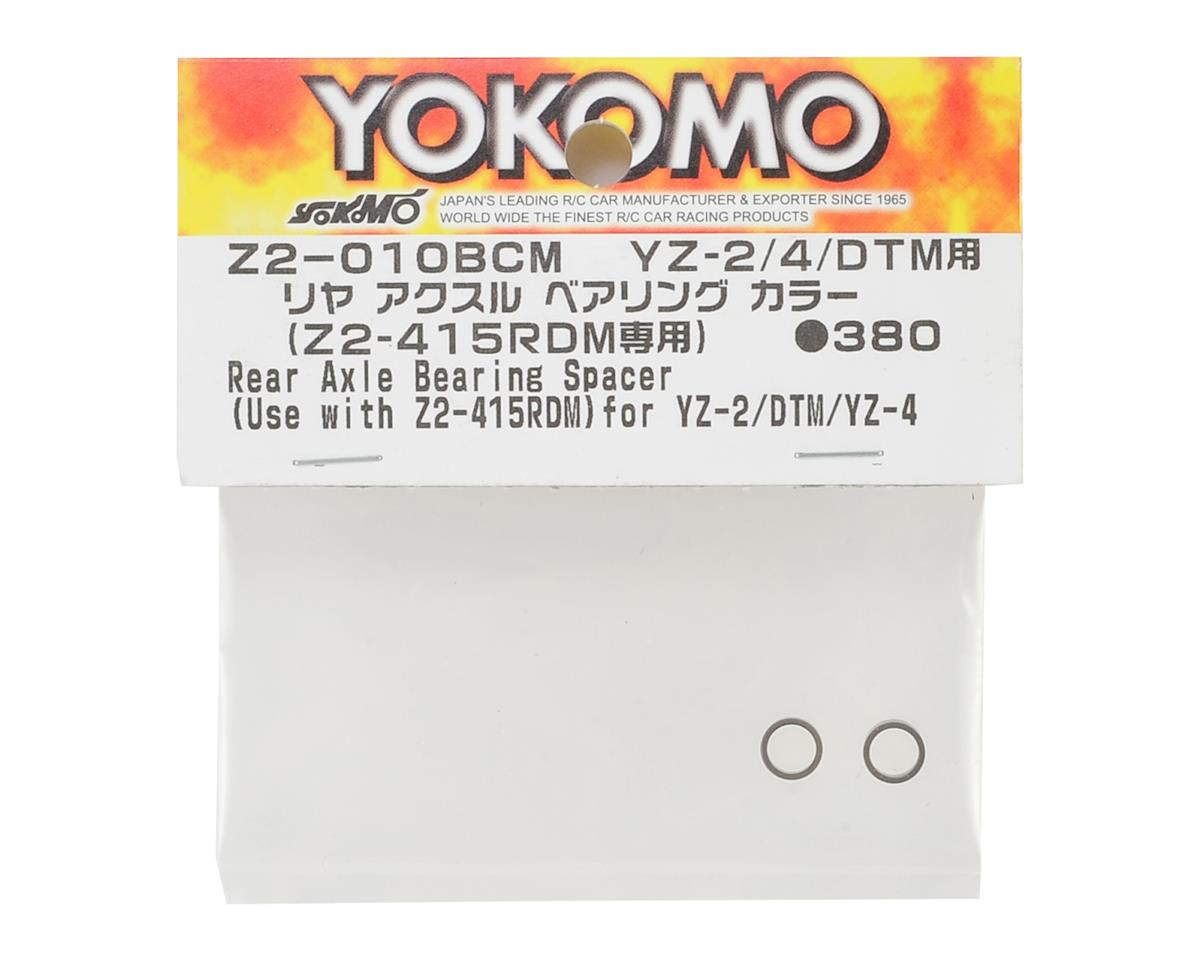 Yokomo YZ-2 DTM Rear Axle Bearing Spacer (2) (for Z2-415RDM)
