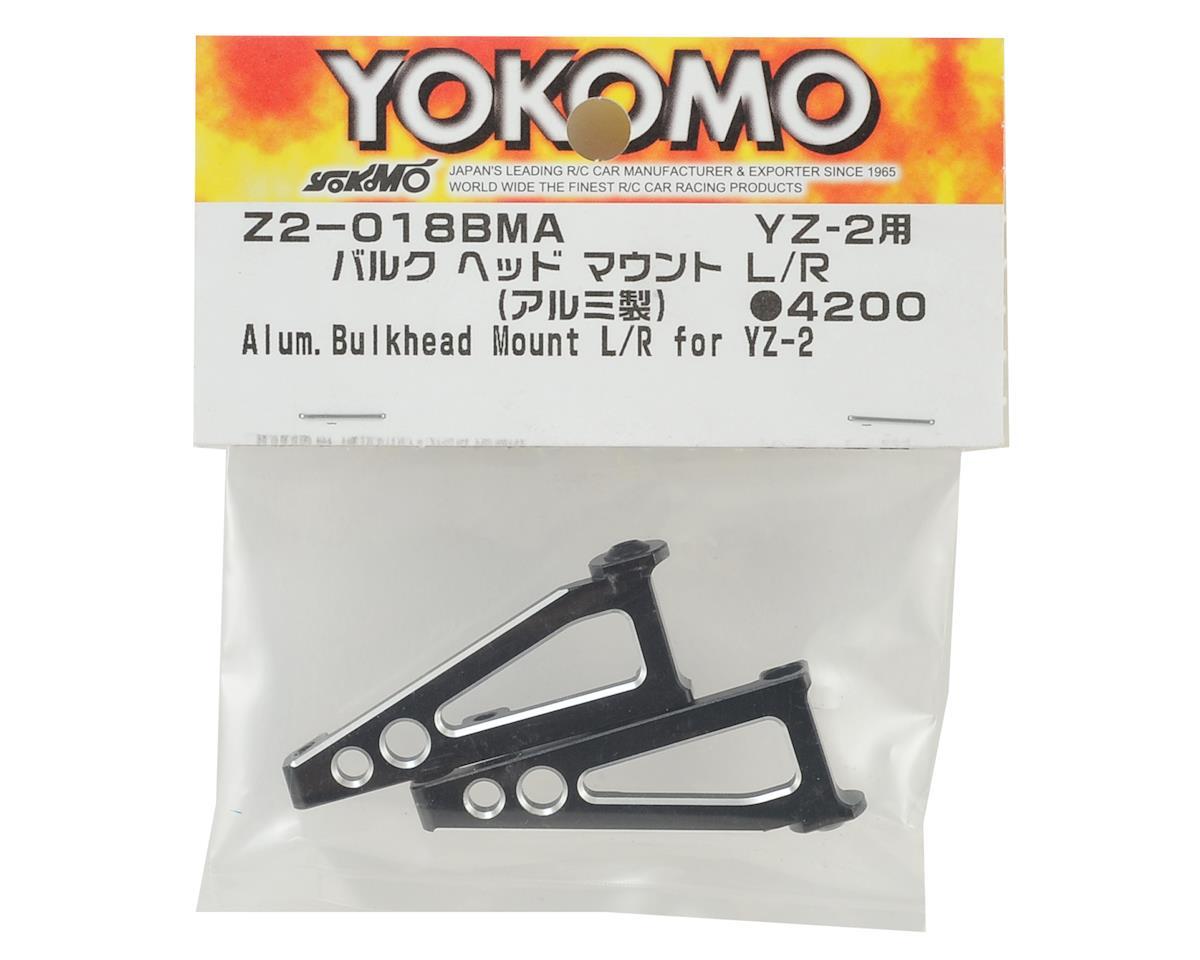 Yokomo YZ-2 Aluminum Bulk Head Mount Set