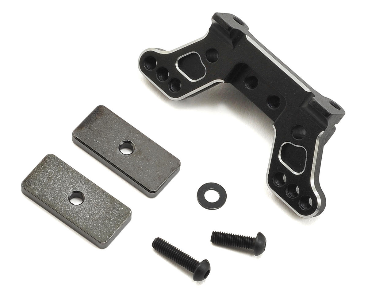 Yokomo Aluminum Rear Camber Block w/Optional Weights