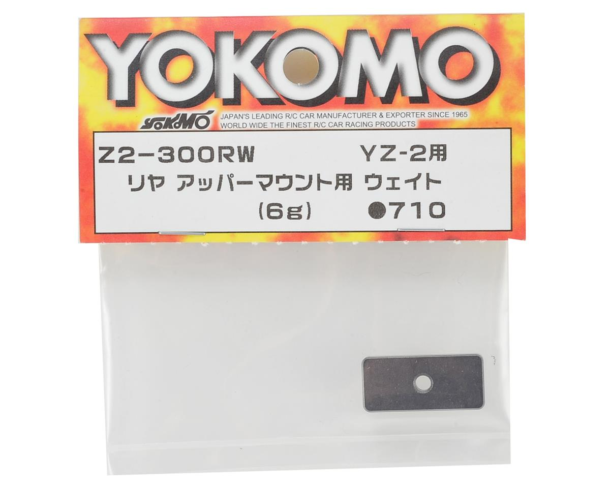 Yokomo YZ-2 Rear Upper Mount Weight (6g)