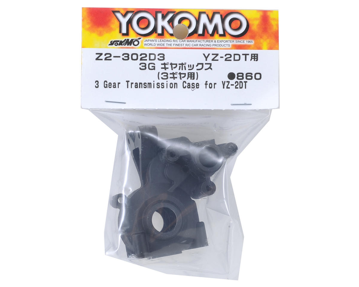 "Yokomo YZ-2 ""Dirt"" 3 Gear Transmission Case"