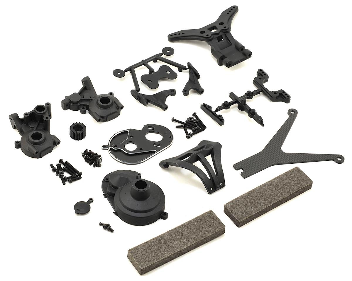 Yokomo YZ-2 Stand-Up Gear Box Conversion Kit (for low-grip)