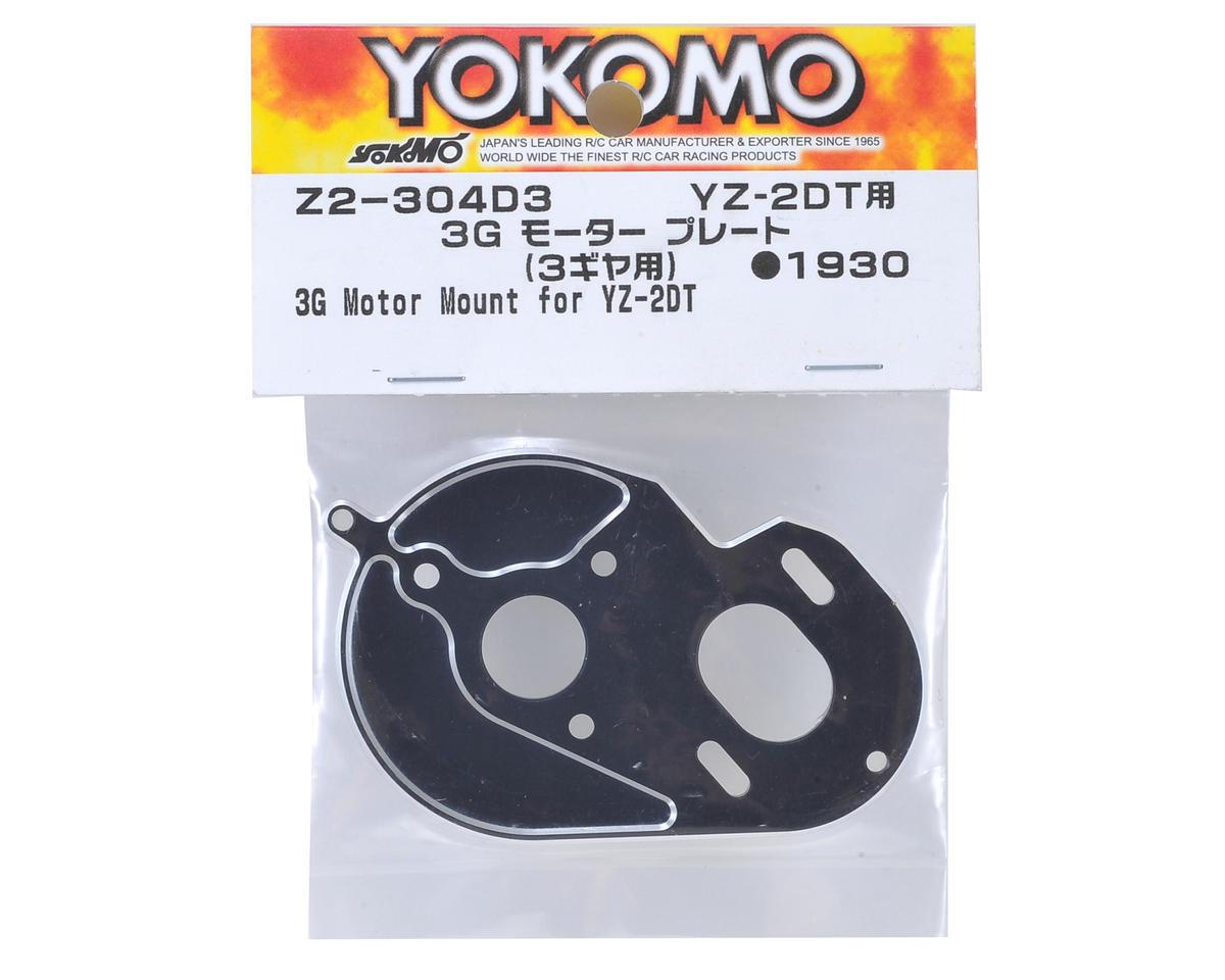 "Yokomo YZ-2 ""Dirt"" 3 Gear Motor Plate"