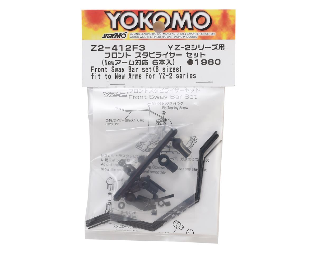 Yokomo YZ-2 Front Anti Roll Bar Set (6) (Updated)