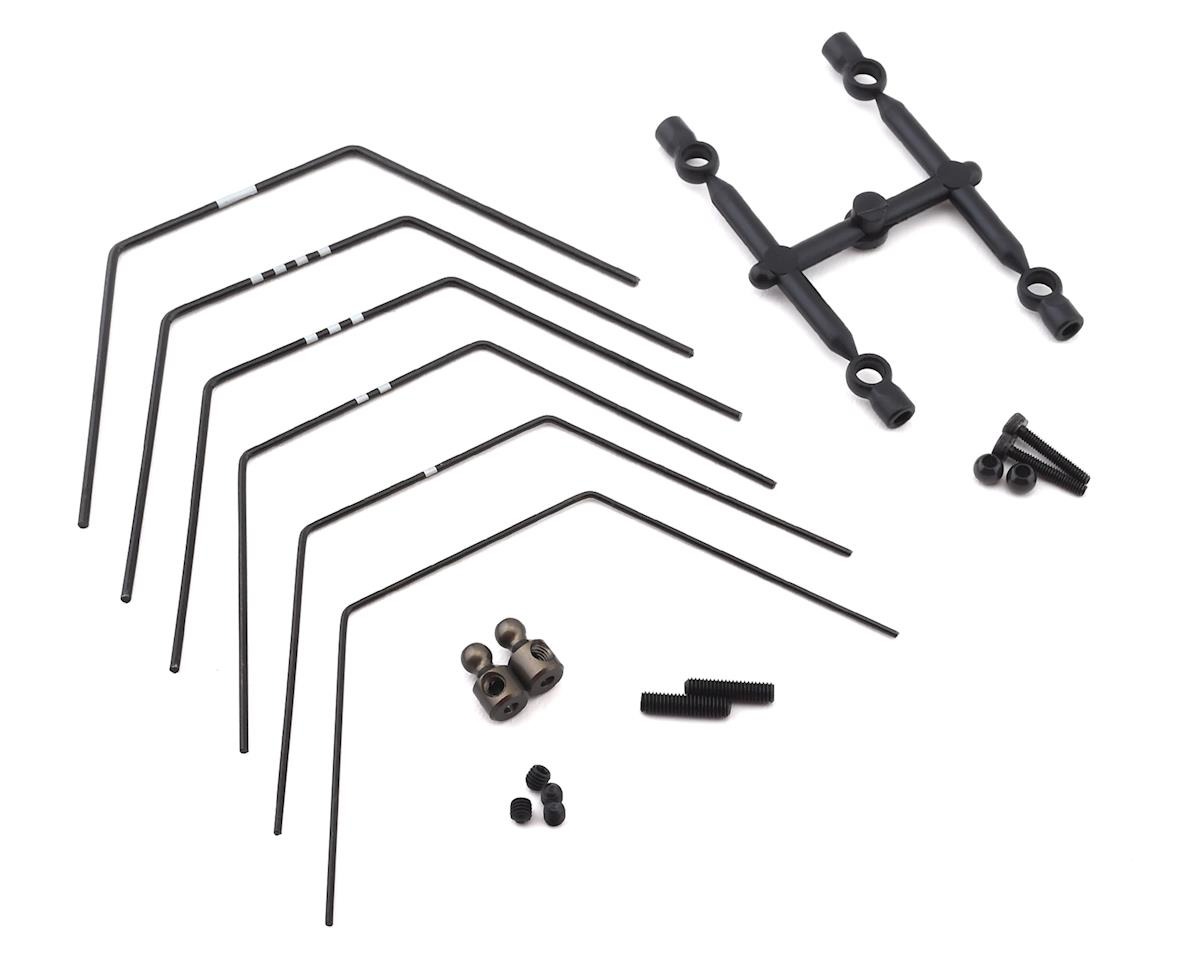 Yokomo YZ-2 DTM 3/CA L3 Rear LD Stabilizer Sway Bar Set (6)