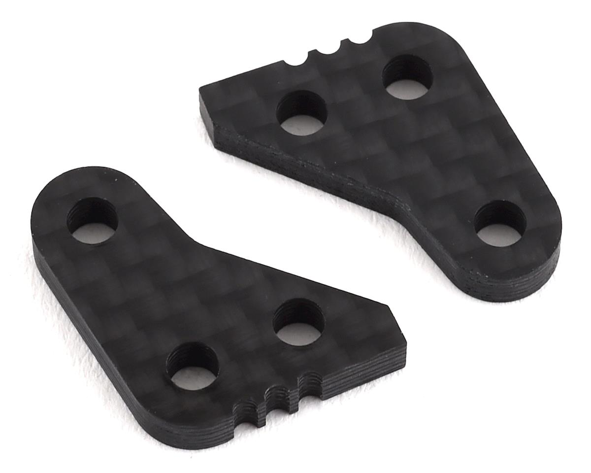 Yokomo YZ-2T Graphite Steering Block Plate (1.0mm Offset)