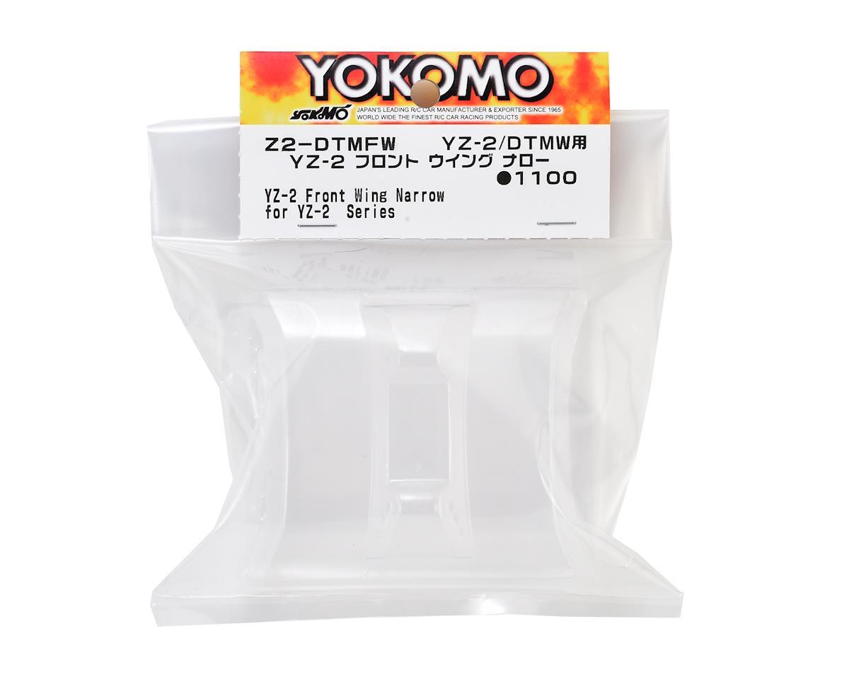 """Yokomo YZ-2 Front """"Narrow"""" Lexan Wing (2)"""