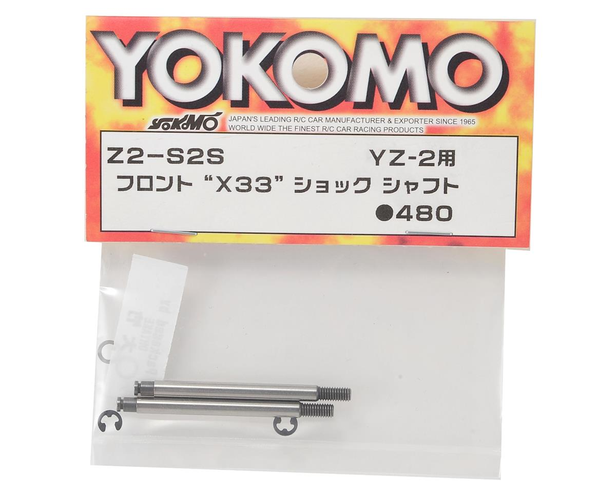 Yokomo Front X33 Shock Shaft (2)