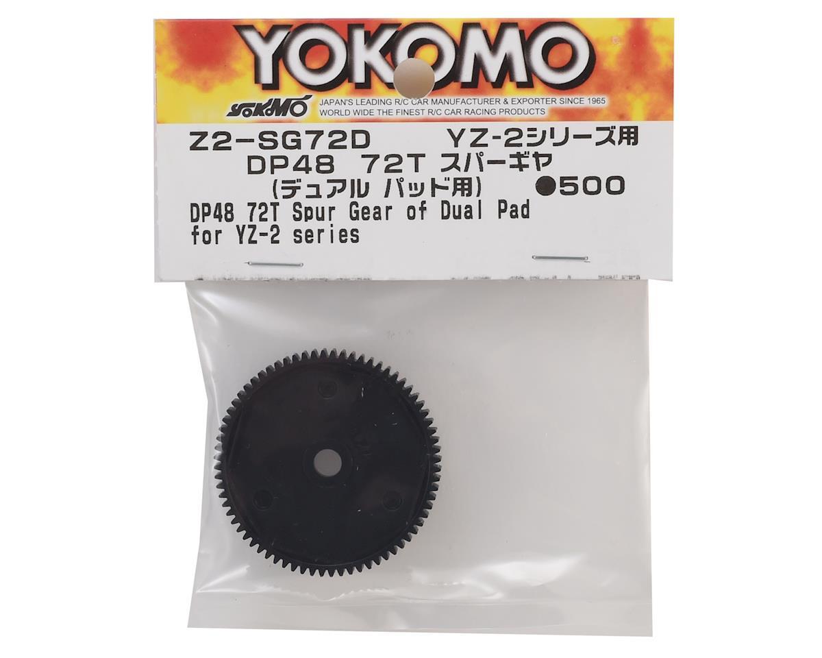 Yokomo YZ-2 48P Dual Pad Spur Gear (72T)