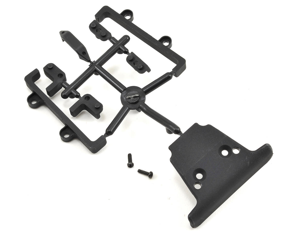 YZ-4 Front Bumper & Battery Guide Set by Yokomo