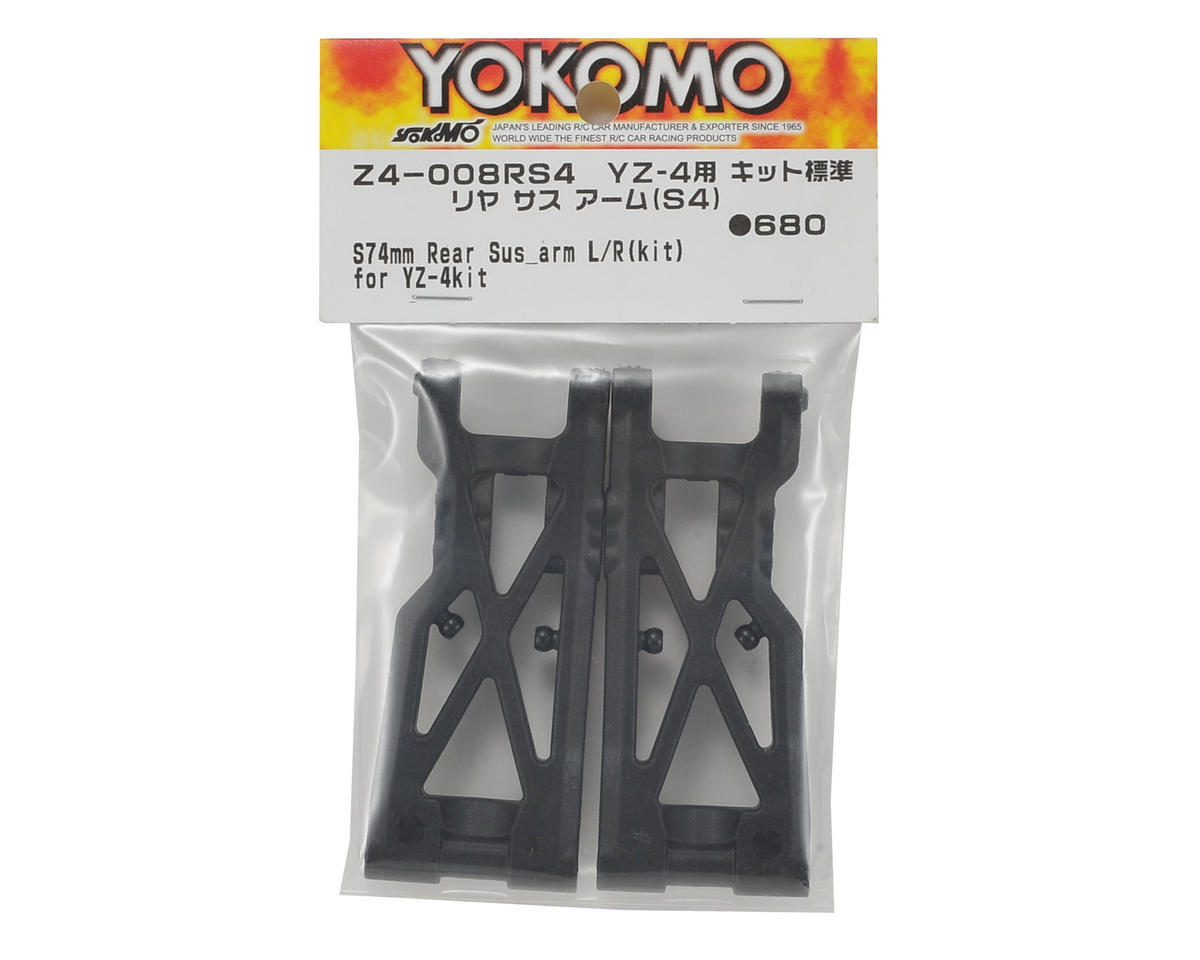 Yokomo 74mm YZ-4 Rear Suspension Arm Set