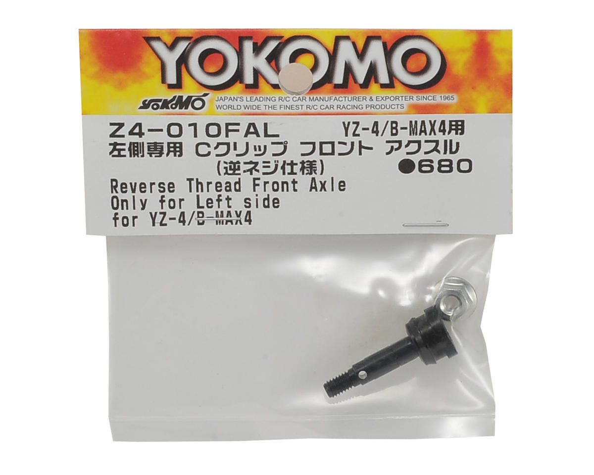 Yokomo Reverse Thread Front Axle (Left Side Only)