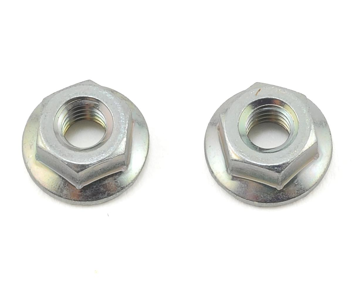 Yokomo M4 Reverse Screw Serrated Axle Nut (Left Side Only)