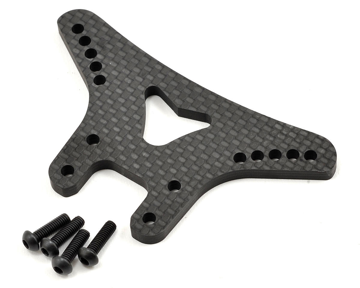 Yokomo 4mm YZ-4 Carbon Fiber Front Shock Tower (for Gull Arms)