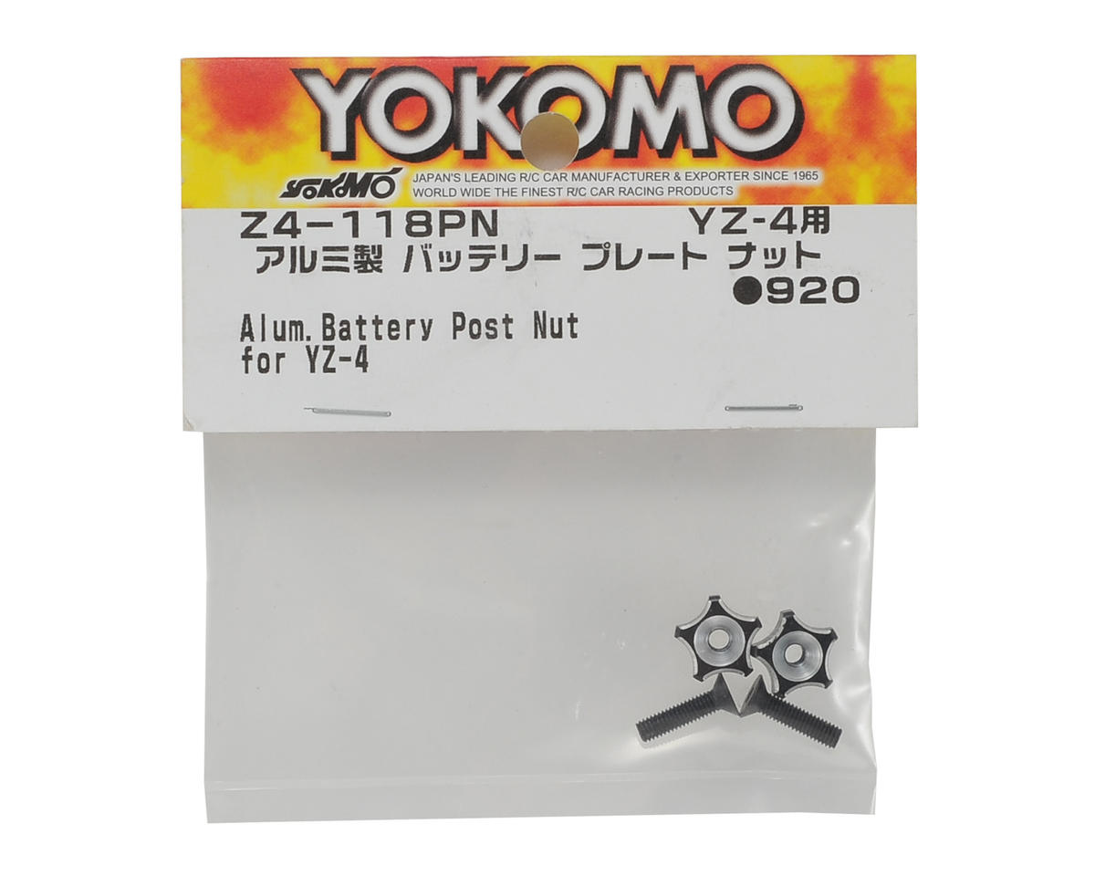 Yokomo YZ-4 Aluminum Battery Post Nut (2)