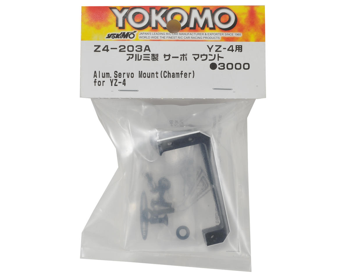 Yokomo YZ-4 Aluminum Chamfered Floating Servo Mount