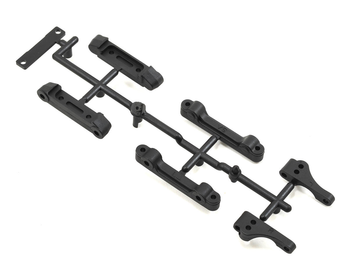 YZ-4 Front Upper Mount & Rear Lower Suspension Mount Set by Yokomo