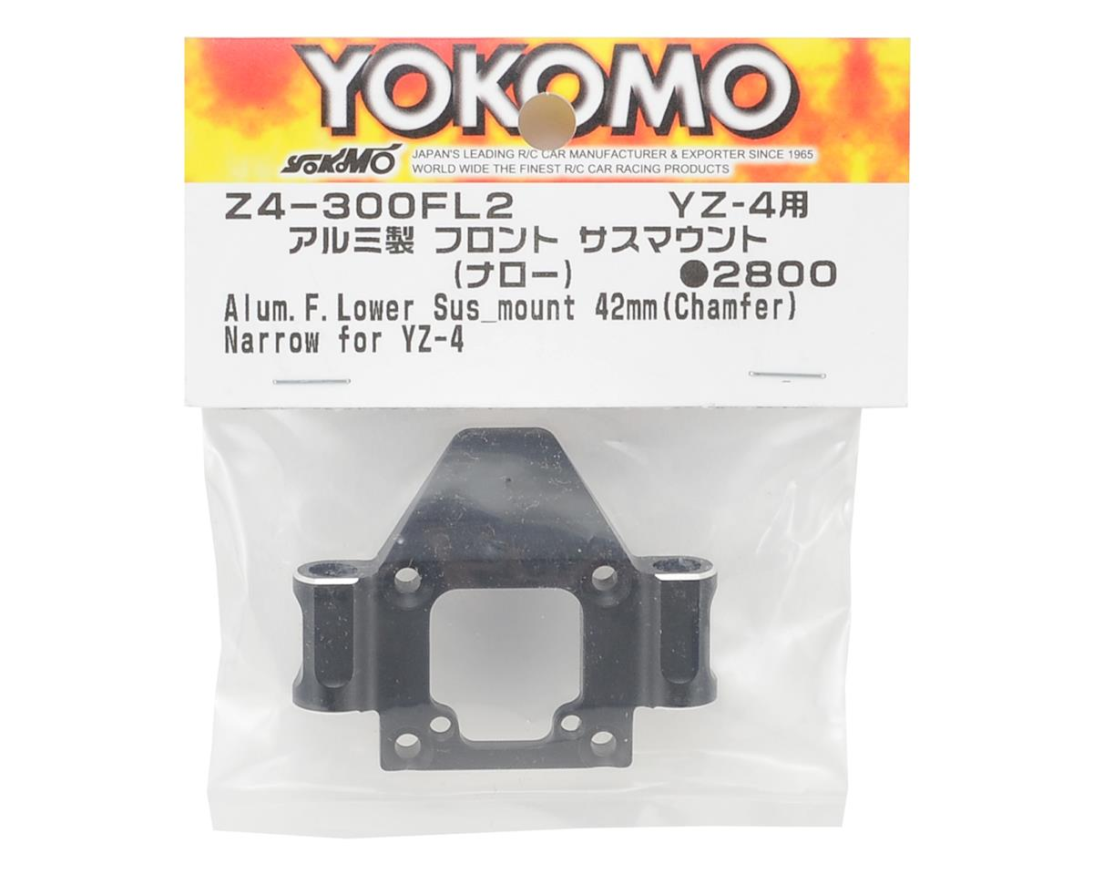 Aluminum YZ-4 Front Lower Suspension Mount (42mm) (Narrow) by Yokomo