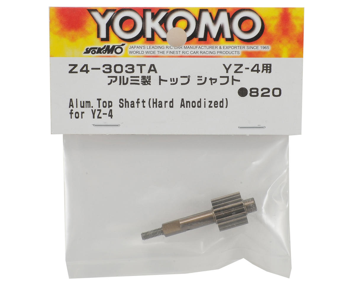 YZ-4 Aluminum Hard Anodized Top Shaft by Yokomo