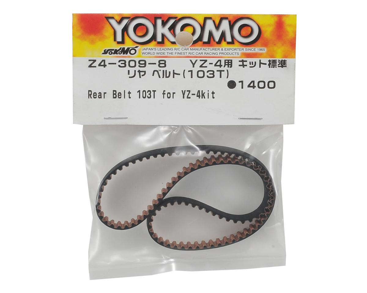 Yokomo YZ-4 Rear Belt (103T)