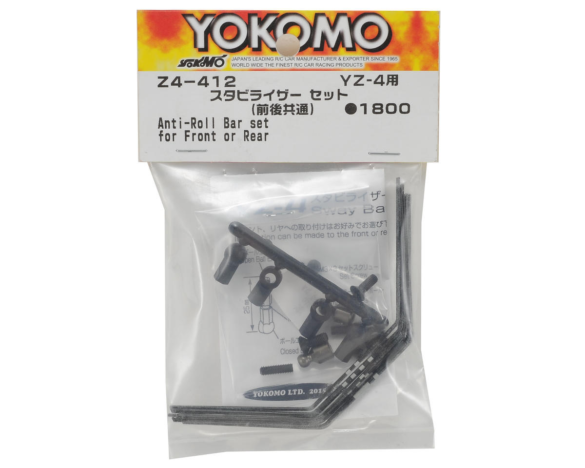 Yokomo YZ-4 Anti-Roll Bar Set