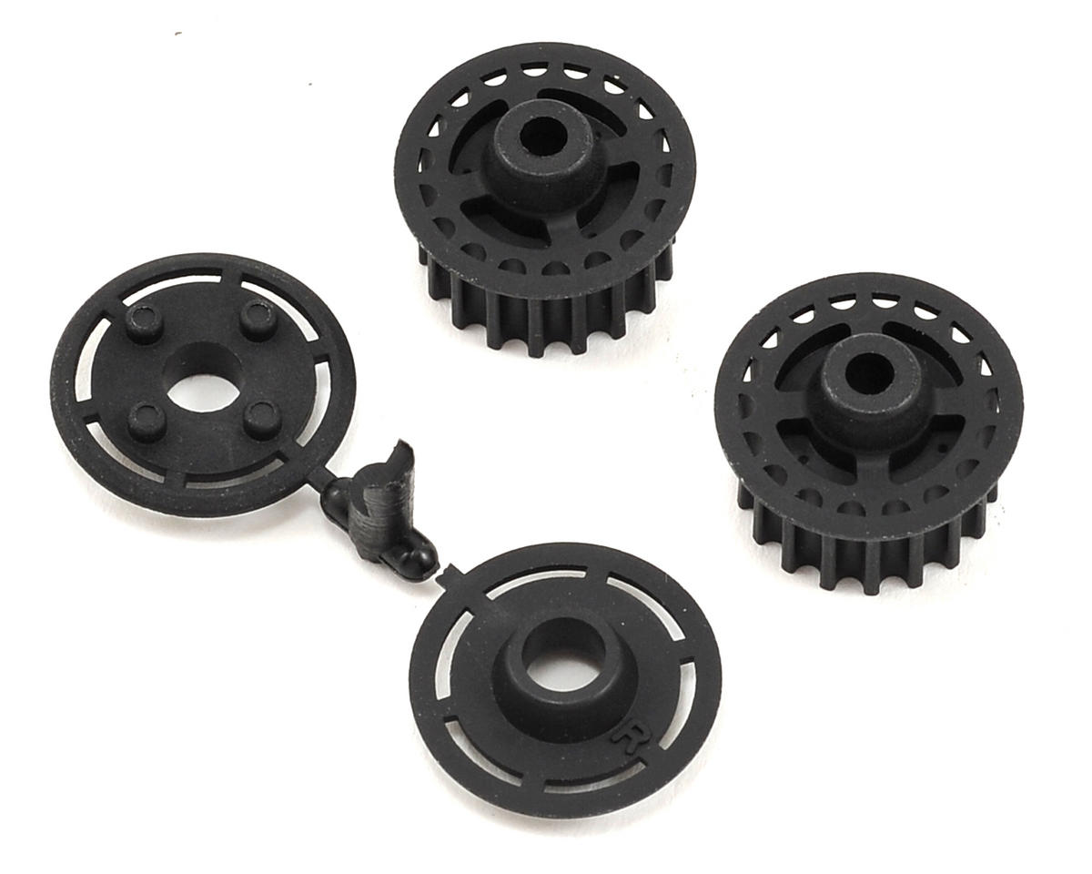 Yokomo Center & Rear Pulley w/Flange