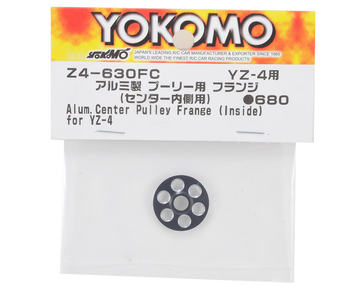Yokomo YZ-4 Aluminum Pulley Flange (Outside)