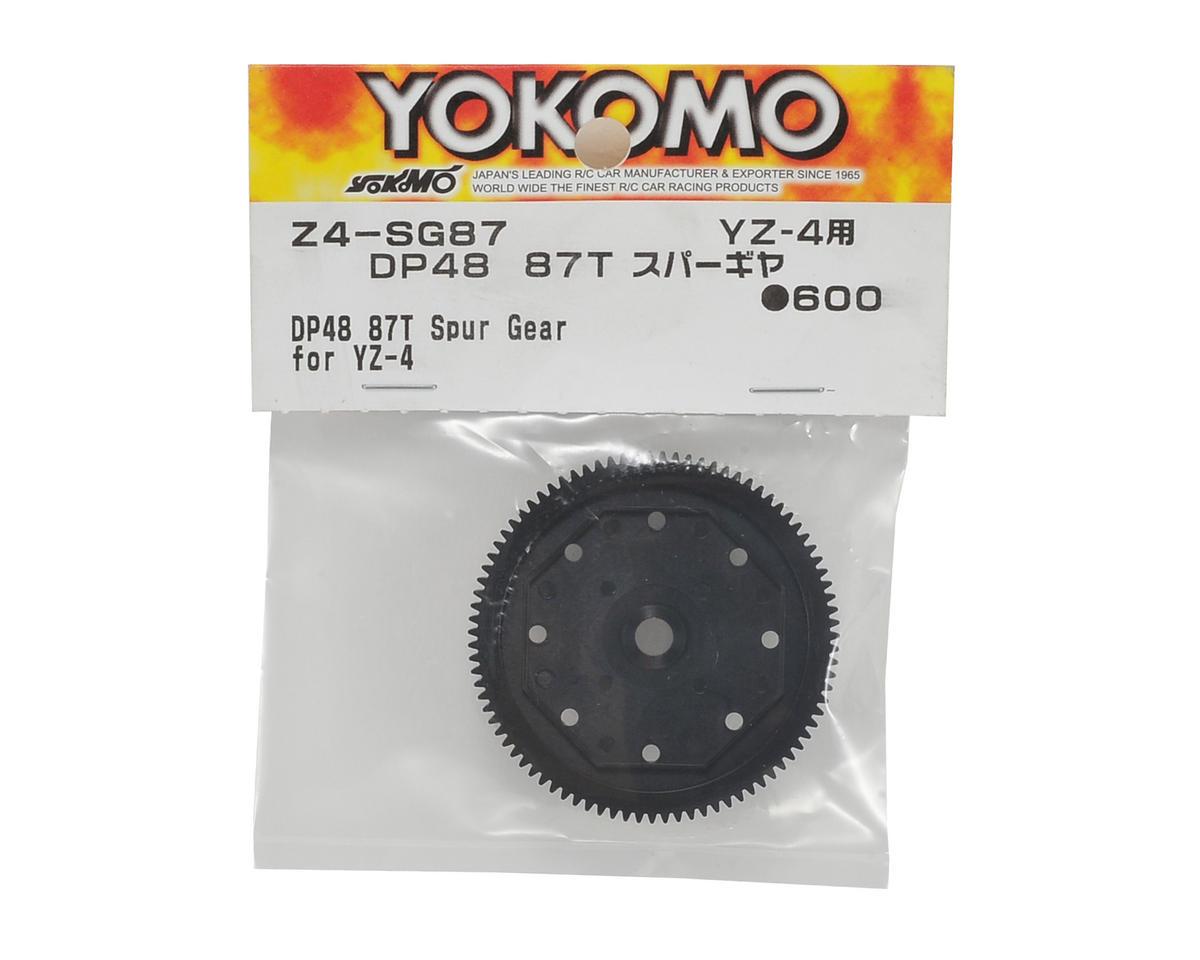 Yokomo YZ-4 48P Spur Gear (87T)