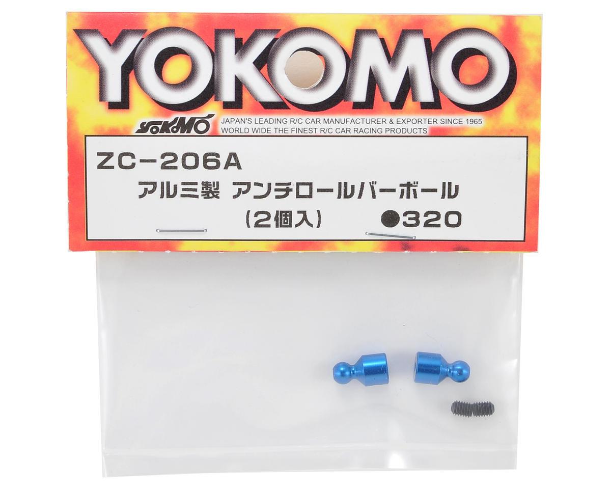 Aluminum Anti-Roll Bar Stabilizer Ball (2) by Yokomo