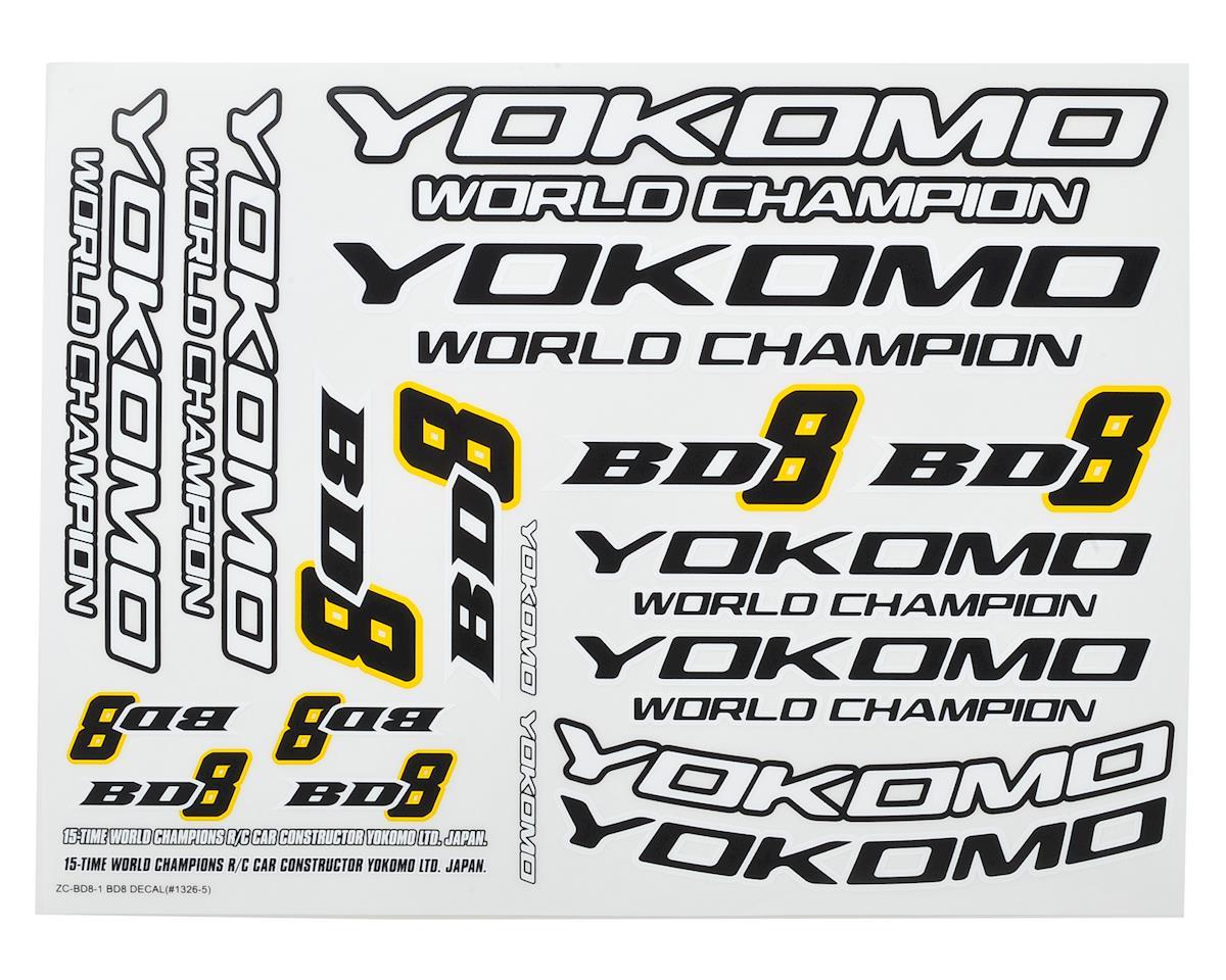 Yokomo BD8 Decal