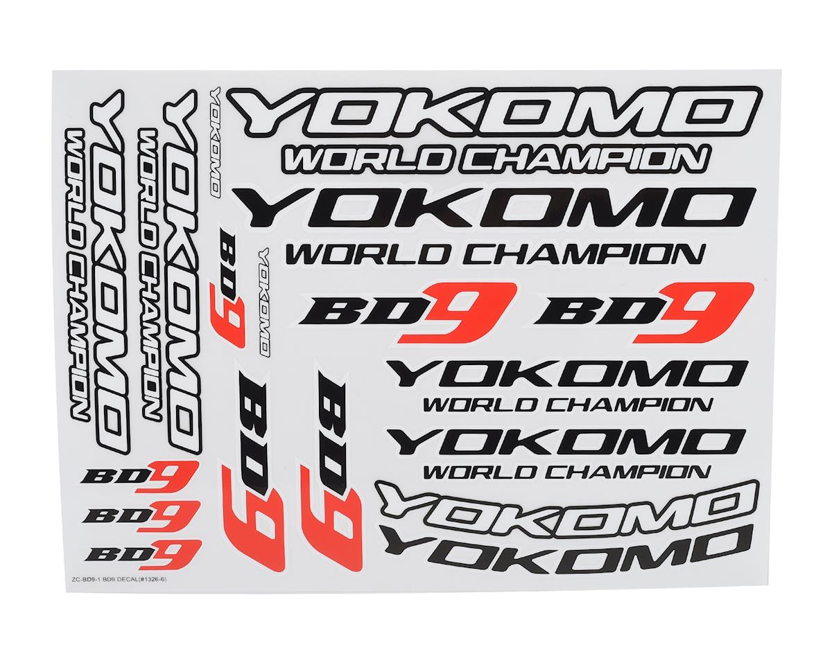 Yokomo BD9 Logo Decal Sheet