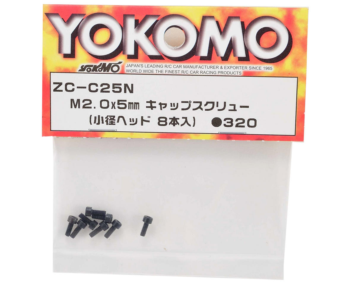 Yokomo 2x5mm Small Cap Head Screw (8)