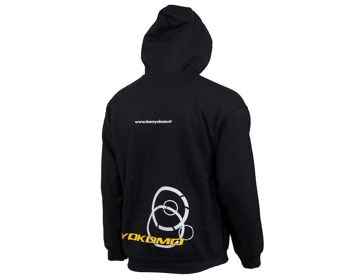 Yokomo Hoodie Sweatshirt (Black) (2XL)