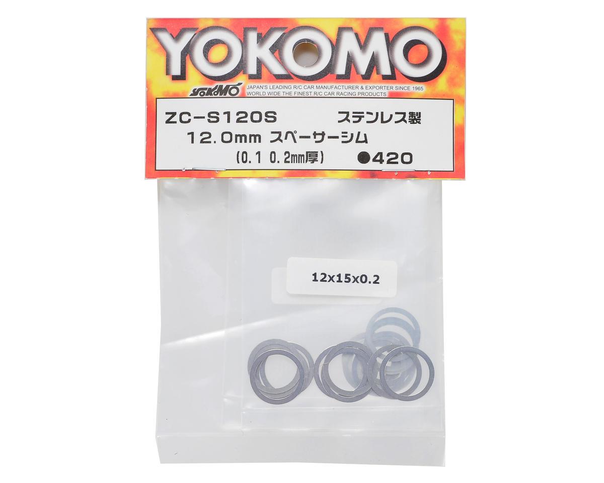 Yokomo 12mm Stainless Steel Shim Kit (20)