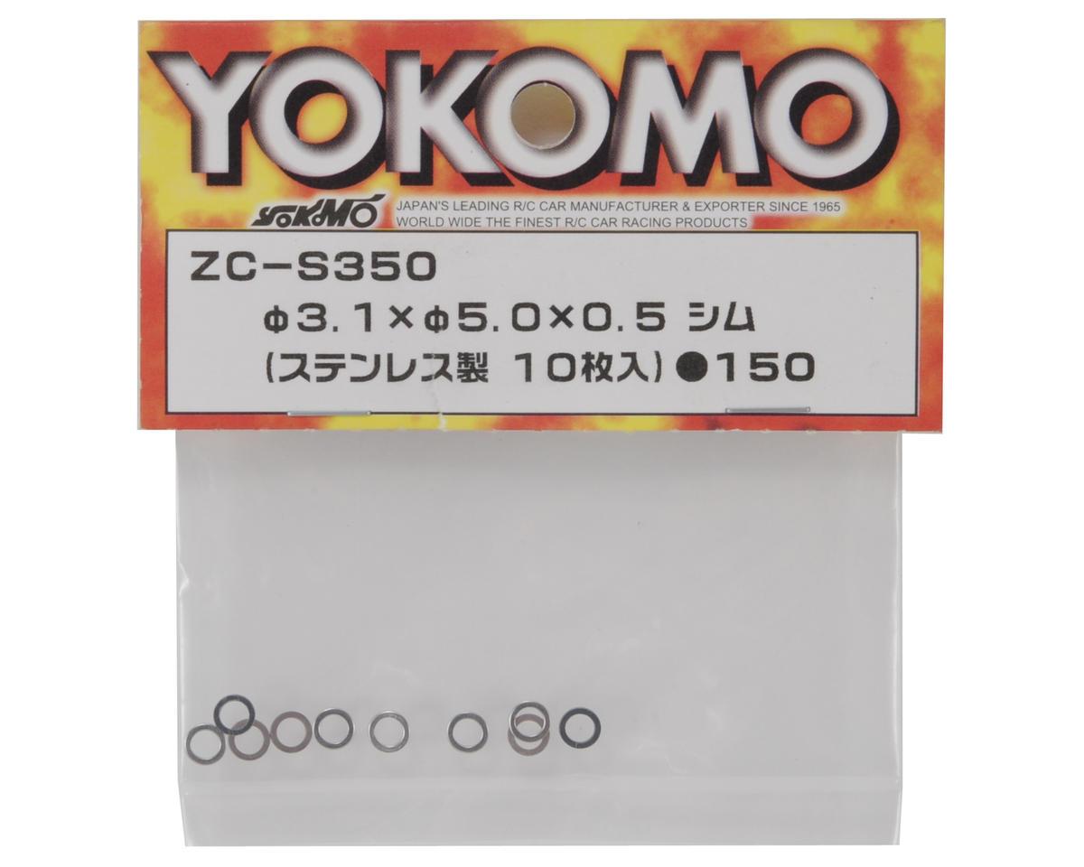 Yokomo 1x5.0x0.5mm Shim (10)