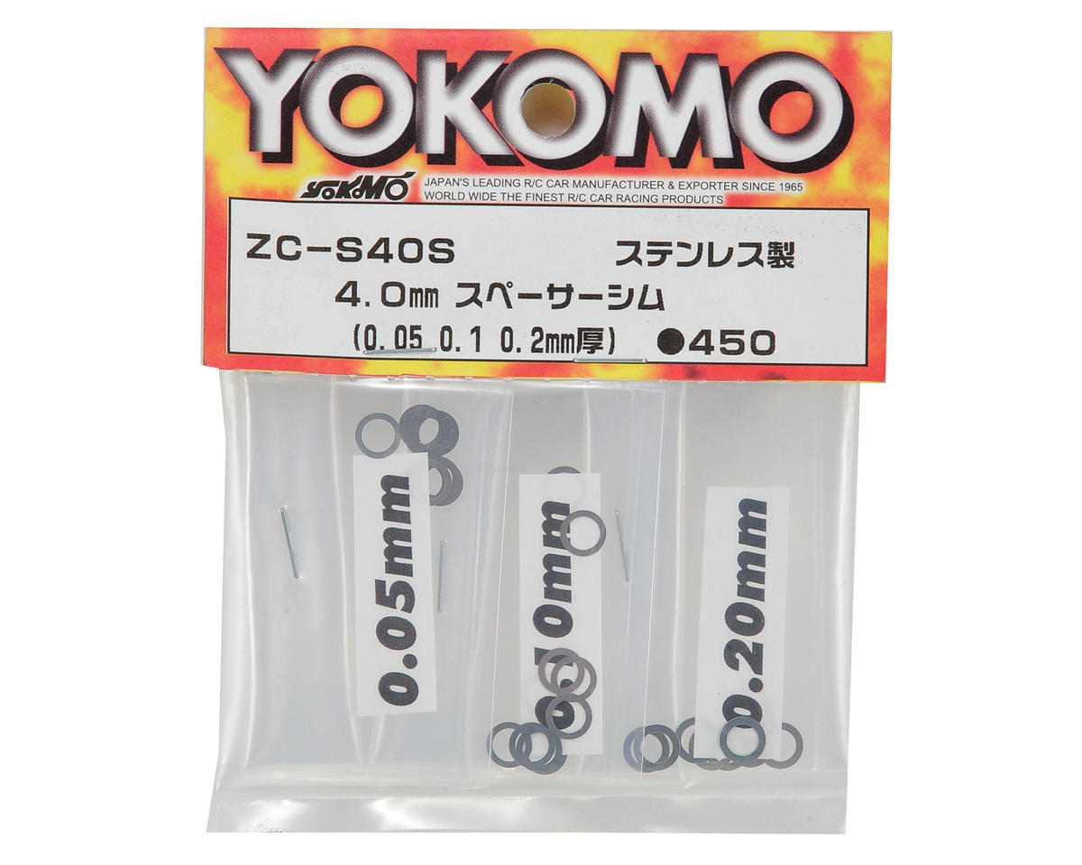 Yokomo 4mm Spacer Shim Set