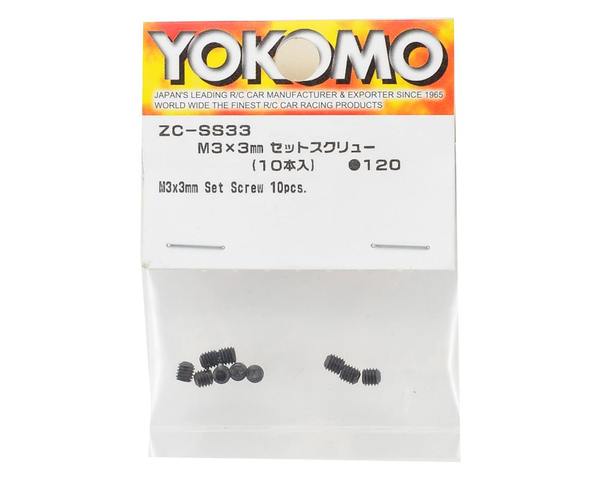 Yokomo 3x3mm Set Screw (10)