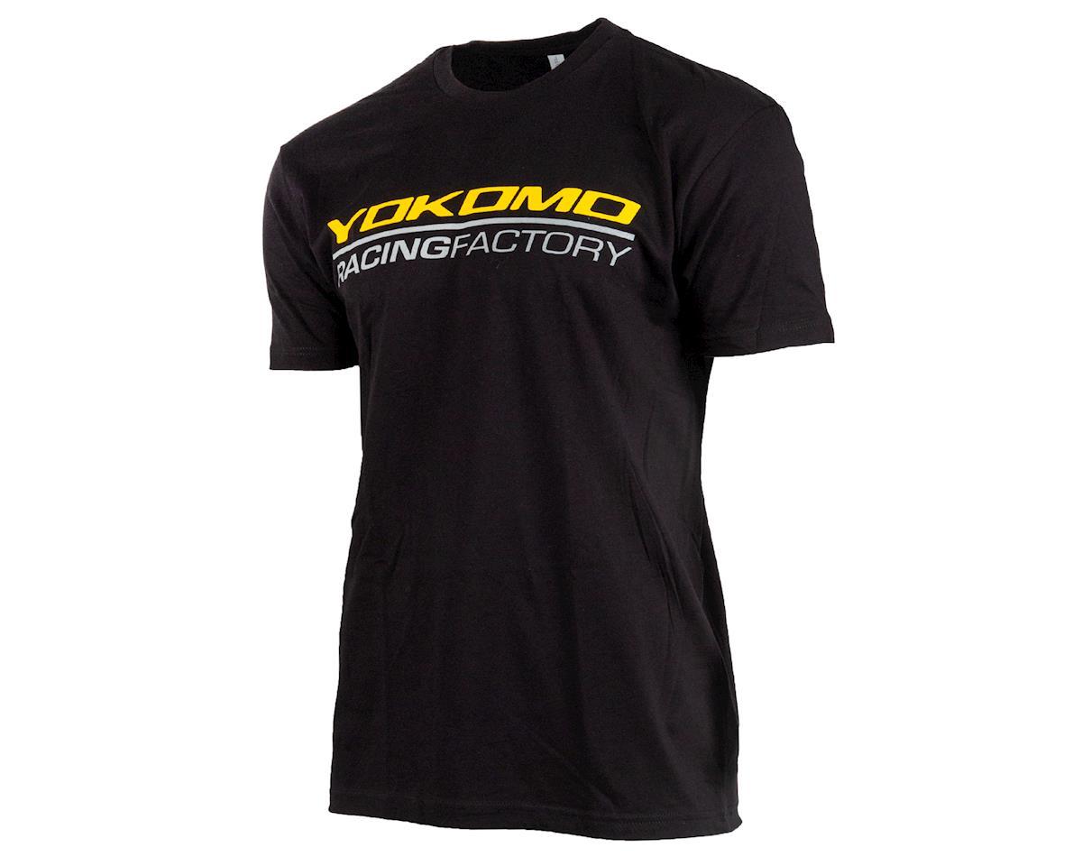 Yokomo Racing Factory T-Shirt (Black) (M)