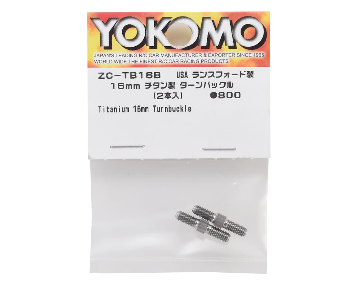 Yokomo 16mm Titanium BD7 Turnbuckle (2)