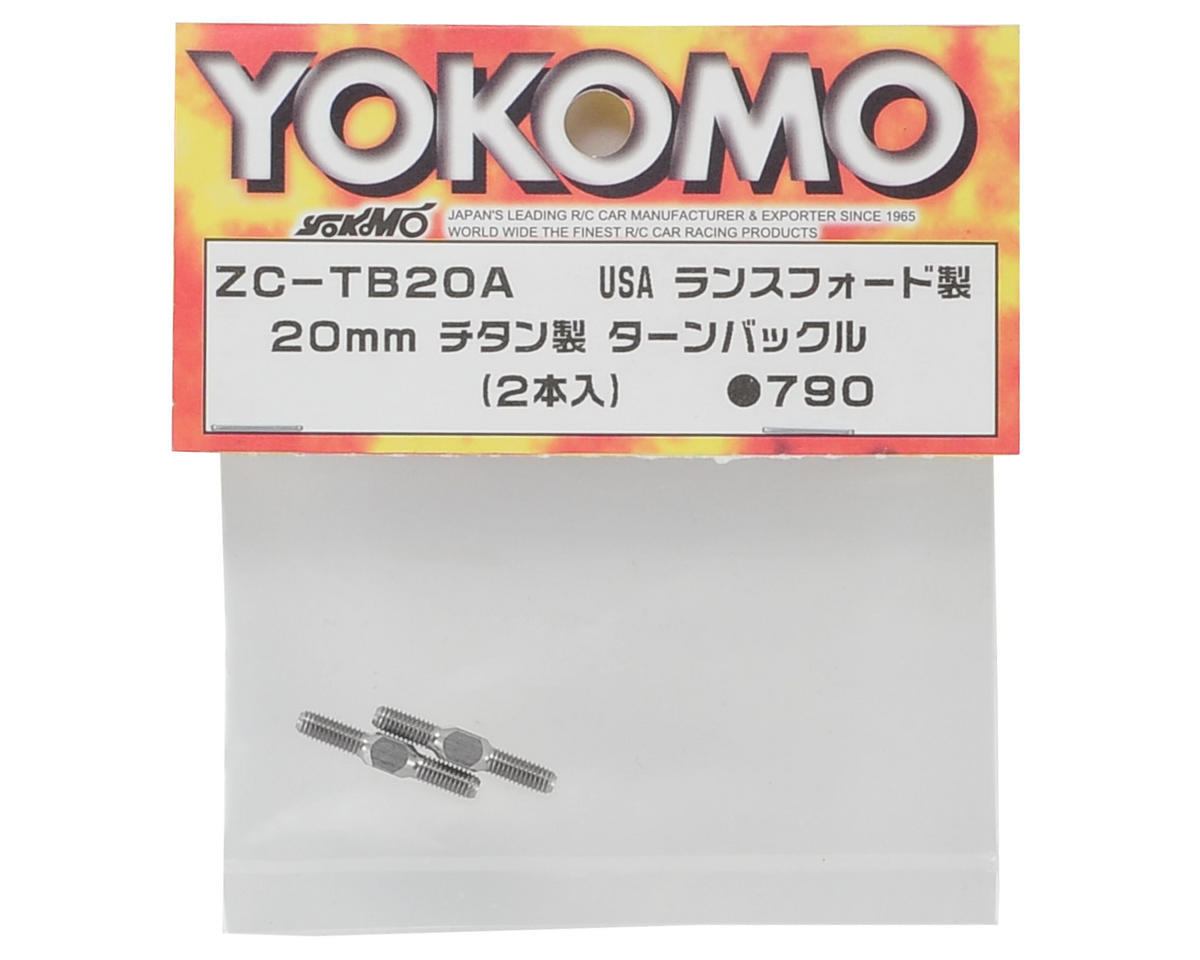 20mm Titanium Turnbuckle (2) by Yokomo