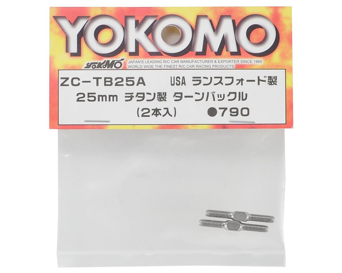 Yokomo 25mm SD Series Titanium Turnbuckle (2)