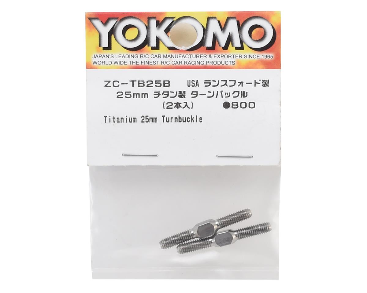 Yokomo 25mm Titanium Turnbuckle (2)