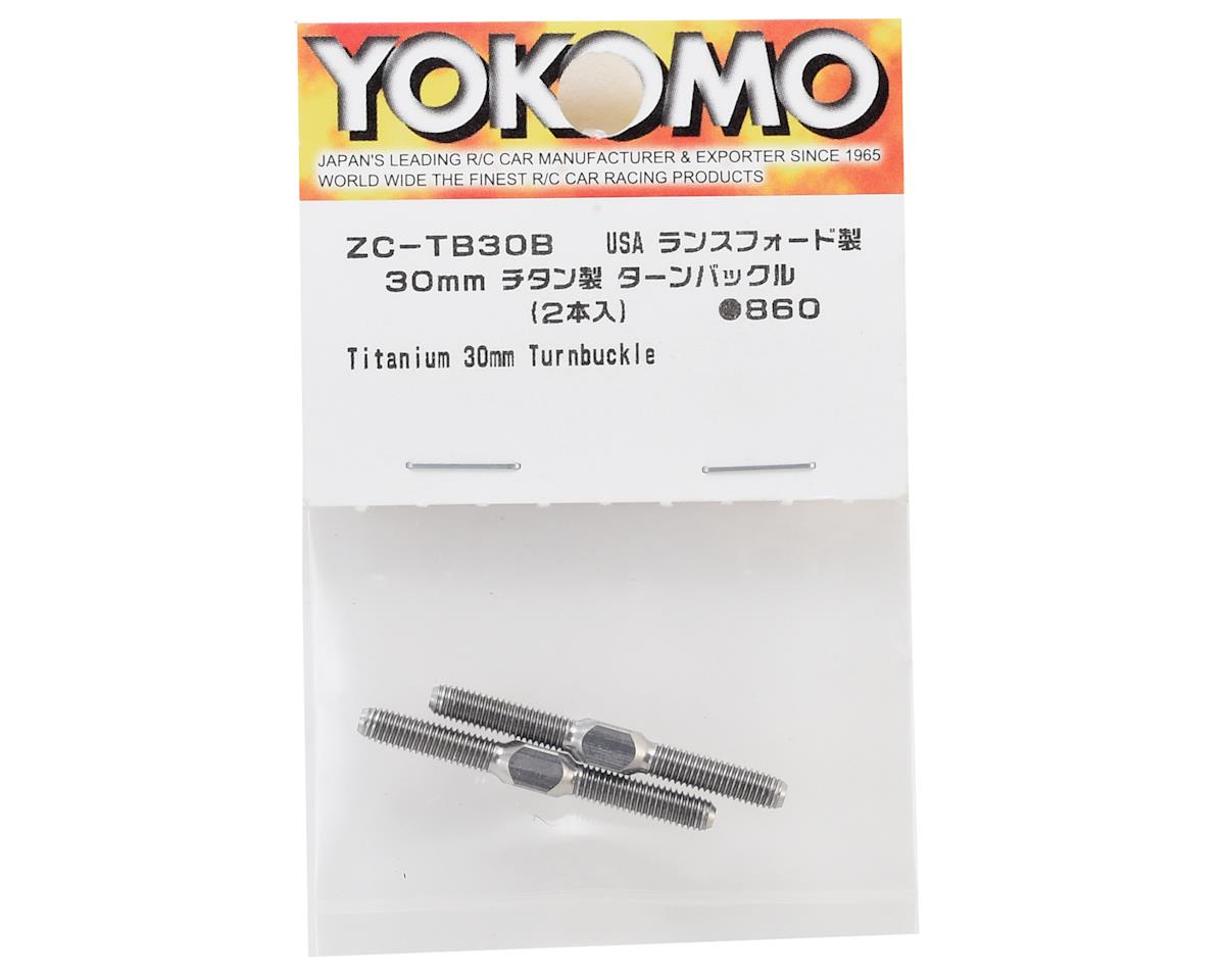 Yokomo 30mm Titanium Turnbuckle (2)