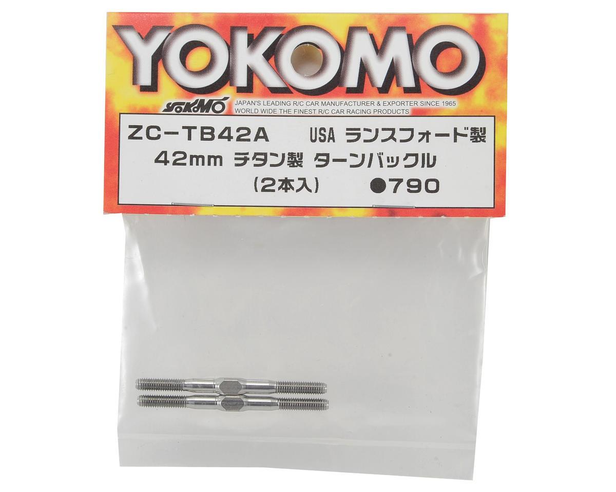 Yokomo 42mm Titanium Turnbuckle (2)