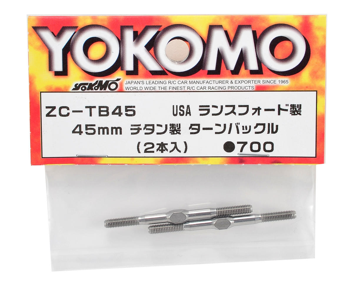 Yokomo 45mm Titanium Turnbuckle (2)